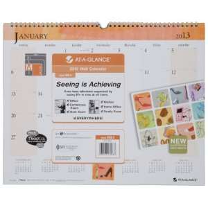 Day Runner Recycled Inspired Wall Calendar, Med Wall