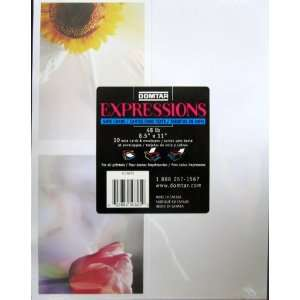 Domtar Expressions Note Cards   Flowers Theme   10 Note