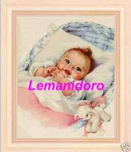 120 cross stitch patterns CHILD Schemi punto croce