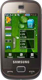 SAMSUNG B5722 DUOS DUAL SIM TOUCH SCREEN 3.2MPX + JAVA