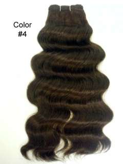 HUMAN HAIR WEAVING EXTENSION ITALIAN WAVE WAVY 14 INCH