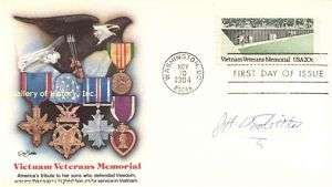 JIMMY DOOLITTLE   FIRST DAY COVER SIGNED