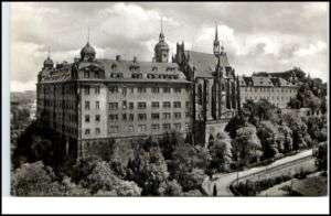 ALTENBURG Thüringen DDR Echt Foto AK Schloss Gesamt A.