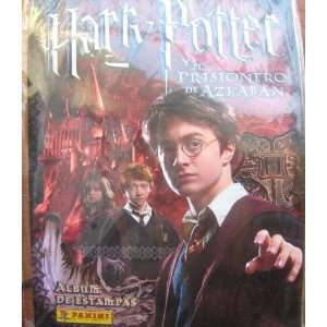 Harry Potter Azkaban Panini Complete Stickers Album
