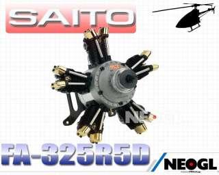SAITO FA 325R5D Four Stroke Engine R/C Engine Aircraft