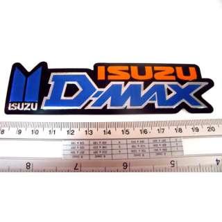 Isuzu D Max Emblem Car Reflective Light Sticker 1x5 BO