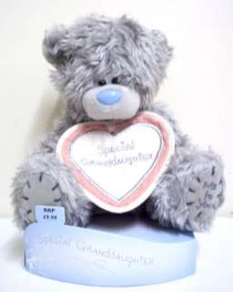 ME TO YOU SPECIAL GRANDDAUGHTER TATTY TEDDY BEAR PLUSH SOFT TOY 6 INCH