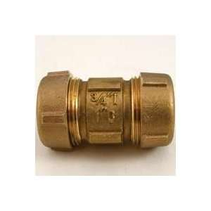 Jones Stephens Corp. C14207R Brass Compression Coupling Ips No Led 3/4