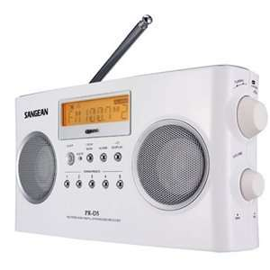 New   Sangean PR D5 Digital Portable Radio Tuner   T52435