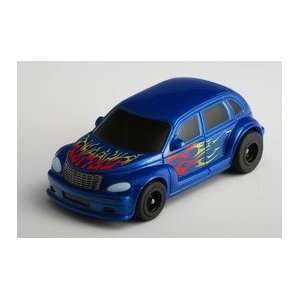 Tomy   SRT Blue Wagon PT Cruiser Slot Car (Slot Cars