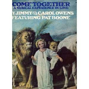 Come Together: Pat Boon, Jimmy & Carol Owens: Music