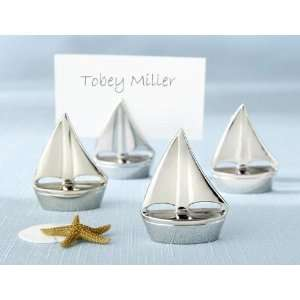 Kate Aspen 11044NA Shining Sails Silver Place Card Holders