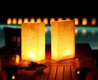 Tea Light/ Paper Candle Lantern Bags Luminaries Party