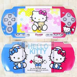 Hello Kitty Resin Cartoon Case Cover for PSP 3000   DinoDirect