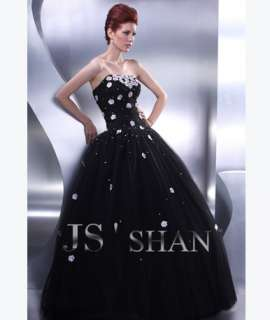 Long Prom Dress on Jsshan Black Long Formal Prom Ball Gown Evening Dress