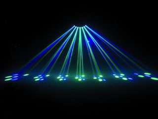 NUOVO Effetto Luce LED DJ Discoteca Scanner Luci BWS58