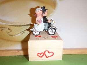 Bikerhochzeit Motorrad Geldgeschenk Hochzeit Biker NEU