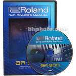 DVD Owners Manual ONLY for the Boss BR 900CD   8 Track Personal