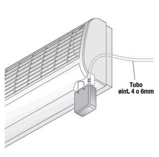 Pompa ESTERNA per acqua di condensa di split / condizionatore max 10kw