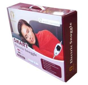 NEW SMART Electric Snuggle Blanket / Heated Throw Rug