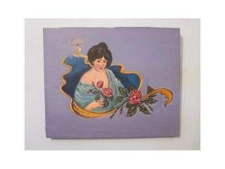 coleccion cuadros al oleo damas antiguas pintura (9700163)