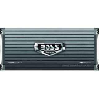 BOSS AUDIO 2 Channel 2600 Watt Armor MOSFET Power Amplifier AR2600.2