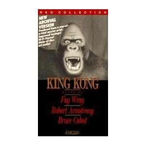 King Kong [VHS]: Fay Wray, Robert Armstrong, Bruce Cabot: Movies & TV