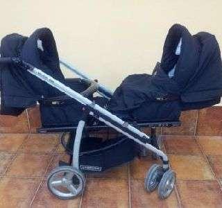 carrito carro doble gemelar para bebes (11859025)    anuncios