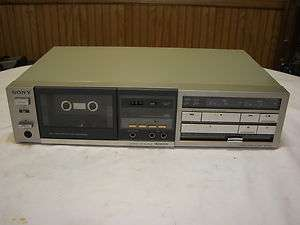 Sony TC FX44 Stereo Cassette Deck Tape Player