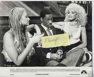 Eddie Murphy Michelle Mais Trading Places Press Photo