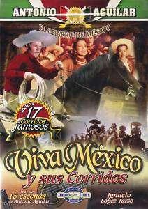 VIVA MEXICO Y SUS CORRIDOS (1982) ANTONIO AGUILAR NEW