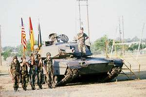 M1 Abrams tank REFORGER 1984 Fort Hood Germany