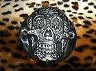 SUGAR SKULL MEXICAN DAY DEAD CHOPPER BOBBER HARLEY POINTS COVER