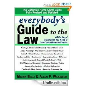 Updated: Allen Wilkinson, Melvin M. Belli:  Kindle Store
