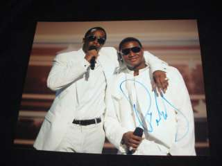 Diddy Sean Combs Autographed signed photo