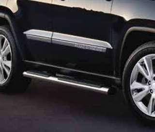 11 12 Jeep Grand Cherokee Side Steps NERF BARS CHROME MOPAR GENUINE