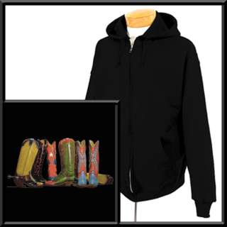 Saturday Sat Night Specials Cowboy Boots Zip Hoodie,Sweatshirt S,M,L