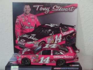 2010 Tony Stewart 14 OLD SPICE 1/24 Action Platinum NASCAR diecast