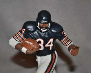 Danbury Mint WALTER PAYTON Figure in Orig Box Chicago Bears HOF