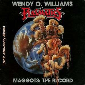 Wendy O. Williams / Plasmatics   Maggots The Record LP   PROFILE