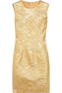 Moschino Metallic brocade dress