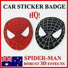 Spider man Big Decal Sticker Badge For Car Auto Motorbicycle laptop
