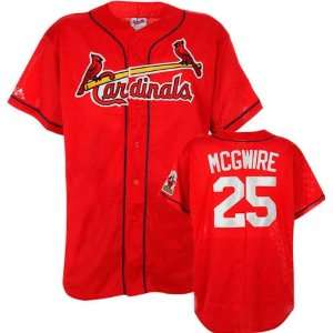 Mark McGwire St. Louis Cardinals Red Replica Jersey (X