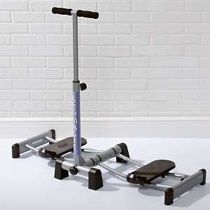 Leg Magic Deluxe Lower Body Machine with DVD and Pedometer at HSN