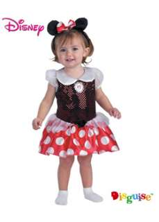 Minnie Mouse Toddler for Infant  Cheap Disney Halloween Costume for