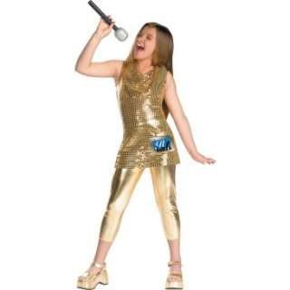 Camp Rock Gold Child Costume, 60813