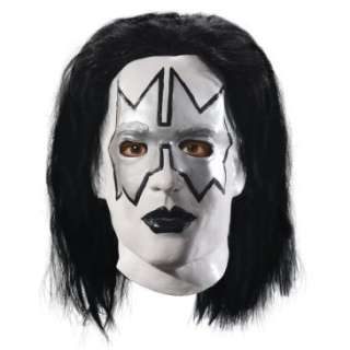 KISS   Spaceman Latex Full Mask With Hair (Adult), 70446