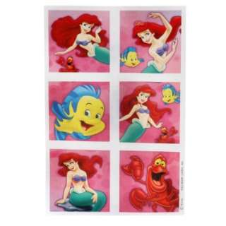 Disney The Little Mermaid Stickers (4 count)   Costumes, 24537