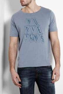 Nudie Jeans  Grey Card Castle T Shirt by Nudie Jeans