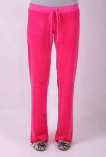 Pink Basic Terry Drawstring Pant by Juicy Couture   Pink   Buy
